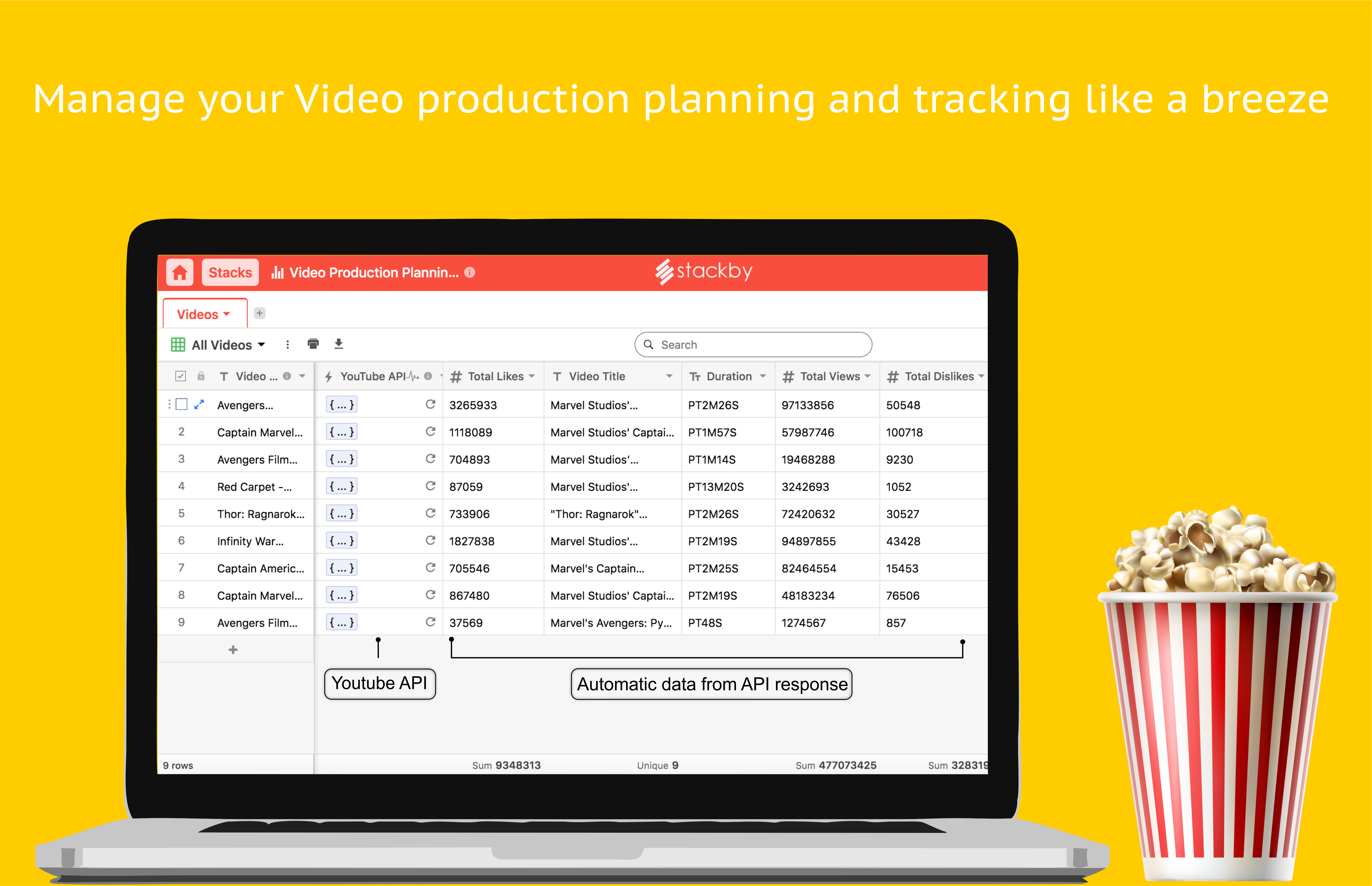 Manage your Video Production Planning and Tracking like a Breeze
