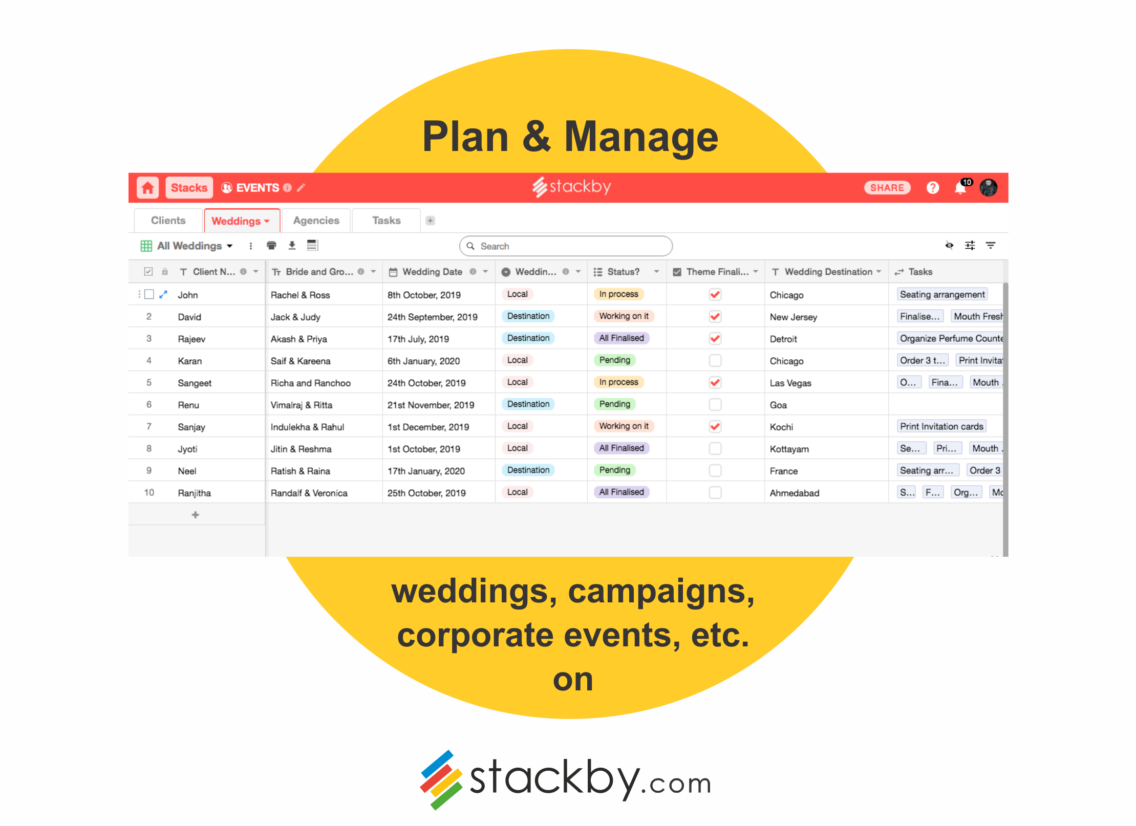 5 Event Planning Templates for the Event Manager in you